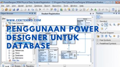 Photo of Cara Menggunakan Power Designer Untuk Database